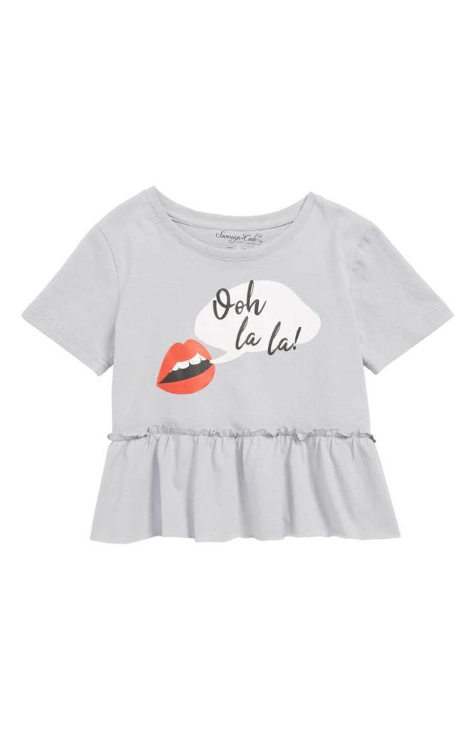 Freely Tee SOVEREIGN CODE Toddler & Little Girl $30.00