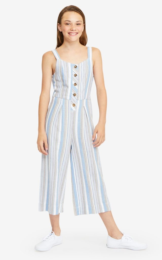 Girl Thea Back Tie Jumpsuit HABITUAL $56.00
