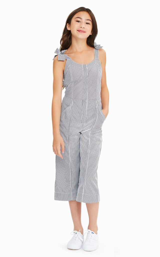 Whitney Stripe Jumpsuit HABITUAL GIRL Toddler & Little Girl $52.00