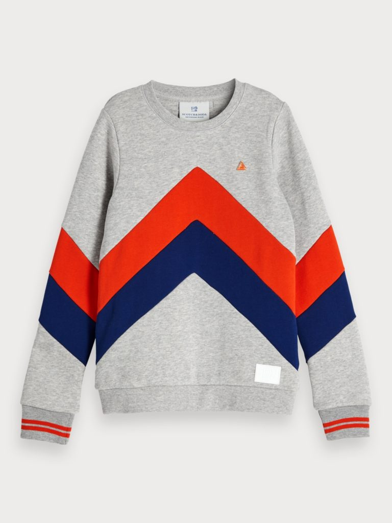 Color Block Sweatshirt $85.00