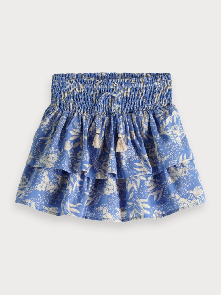 Botanical Print Skirt $65.00