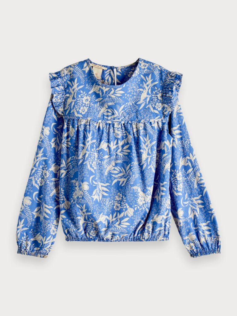 Botanical Print Top $78.00