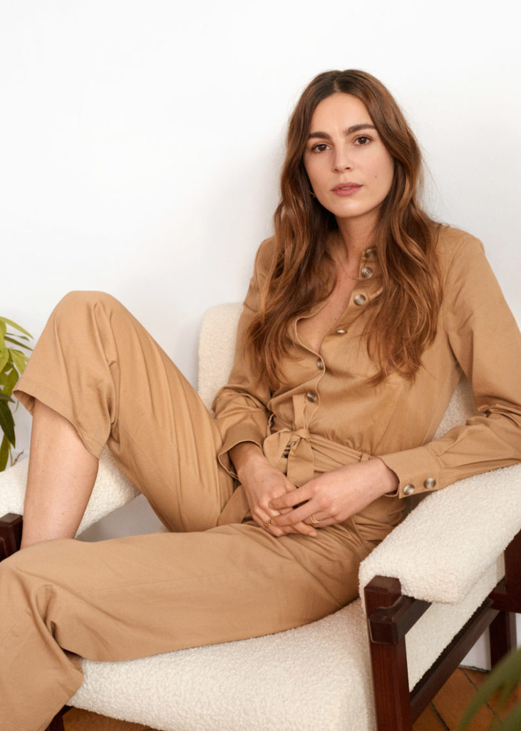 Belted Cotton Boilersuit $99