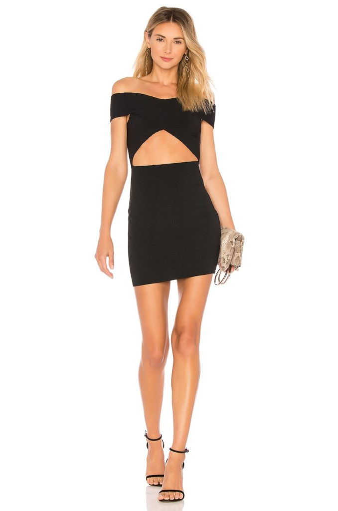 Hallie Cut Out Mini superdown $66