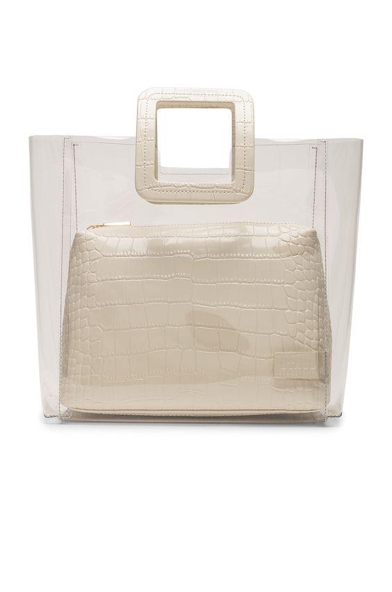 Staud Shirley Croc-Effect Leather Bag $210.00