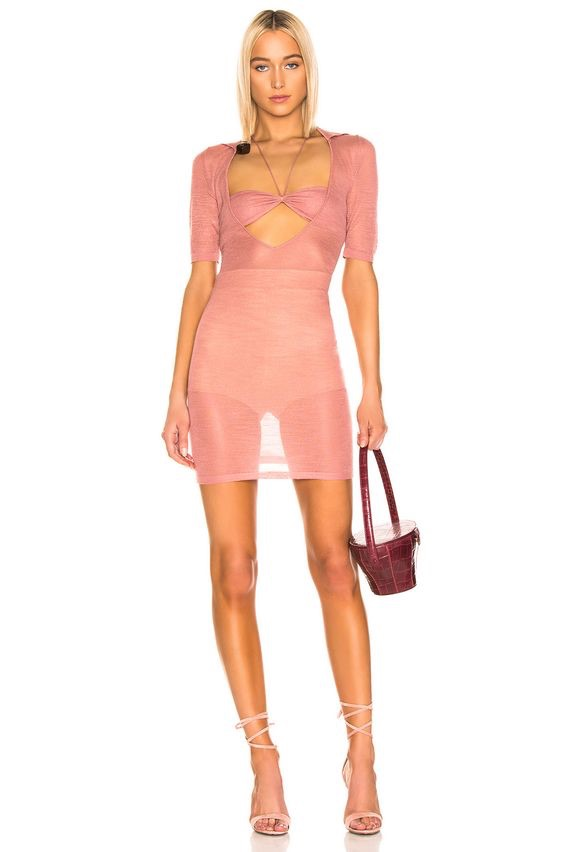 JACQUEMUS Piana Dress $491