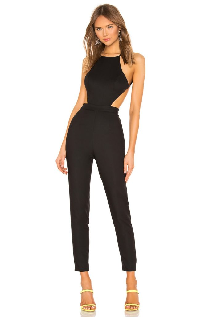 Susie Open Back Jumpsuit superdown $72