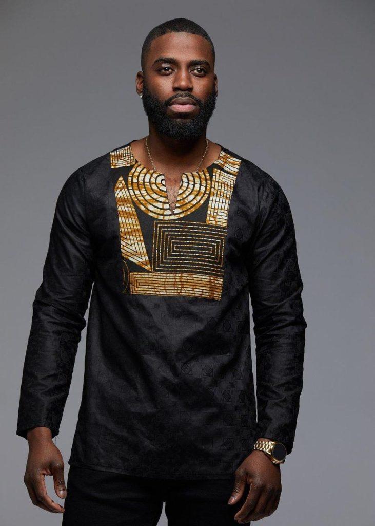 Dakari African Print Trad Shirt $49.99