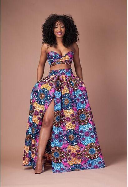 Koss - African Print 2 Piece Set $52.99