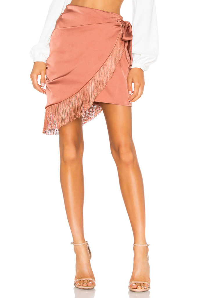 Hallie Mini Skirt  MAJORELLE  $89