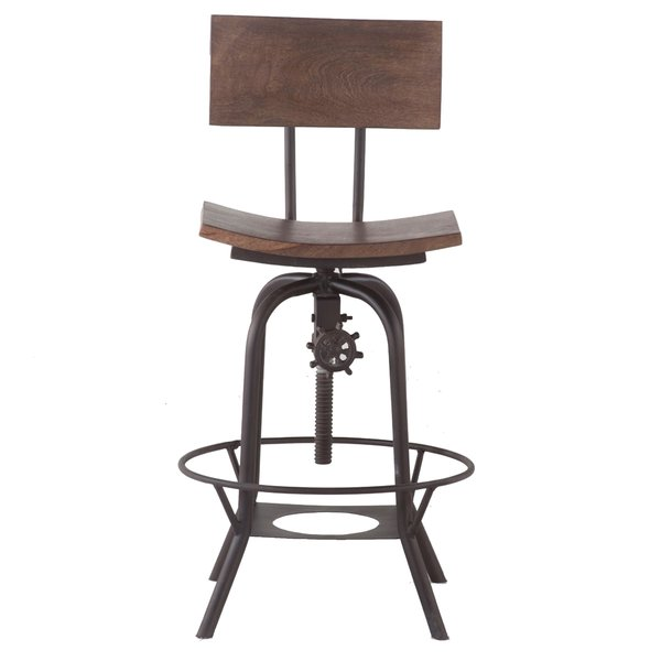 Mott Street Adjustable Swivel Bar Stool $207.99