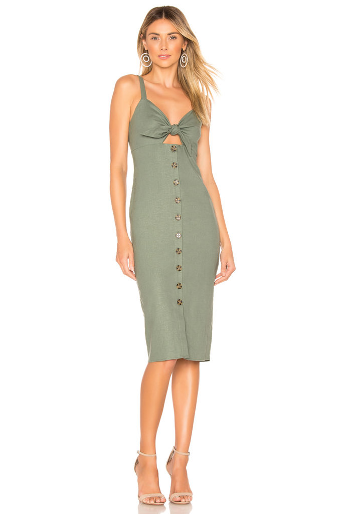 Sage Midi Dress  Privacy Please $158