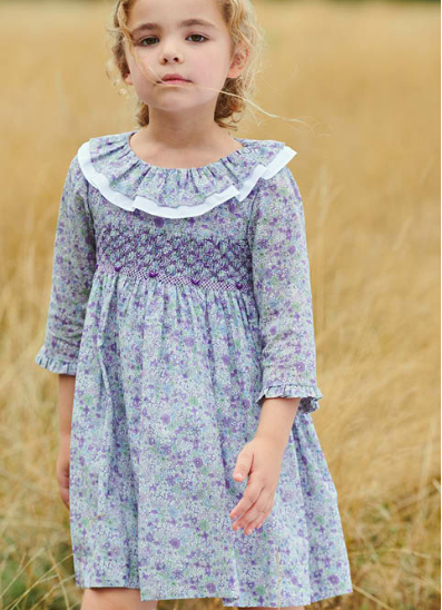 LILA GIRL DRESS Lilac Floral $110.04
