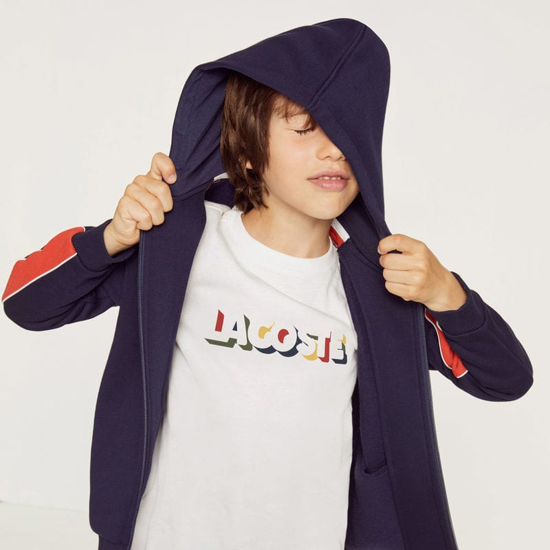 BOYS' CREW NECK COTTON T-SHIRT $45.00