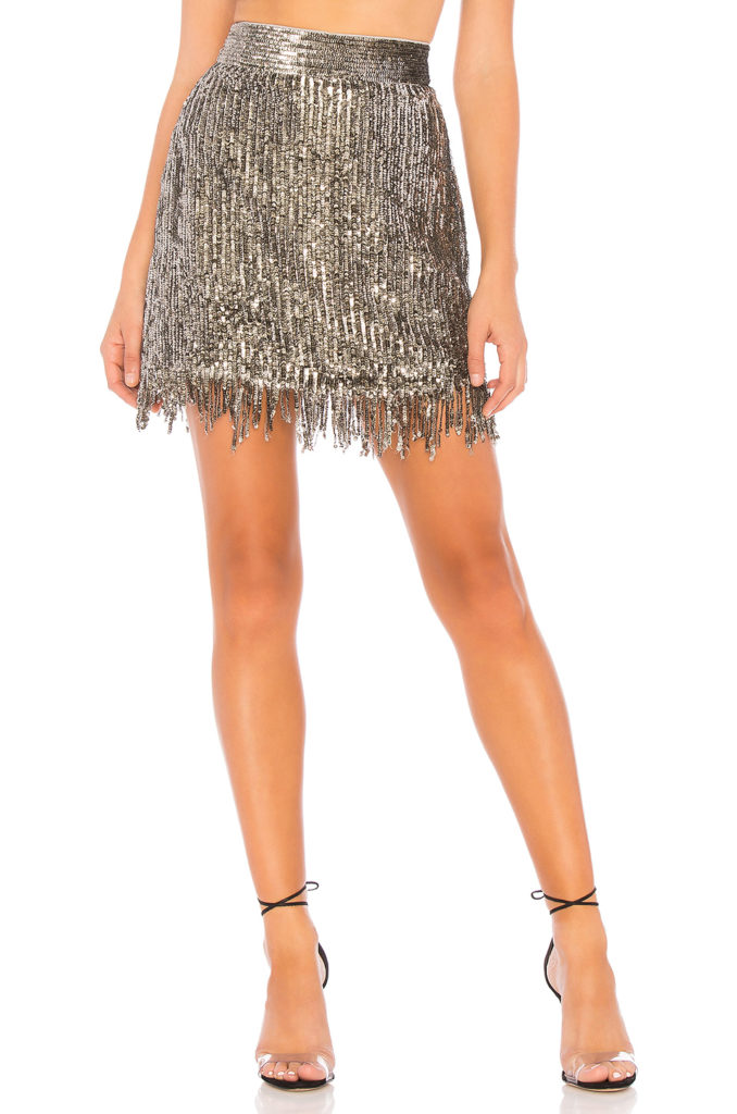 Xavi Embellished Sequin Skirt  X by NBD $228