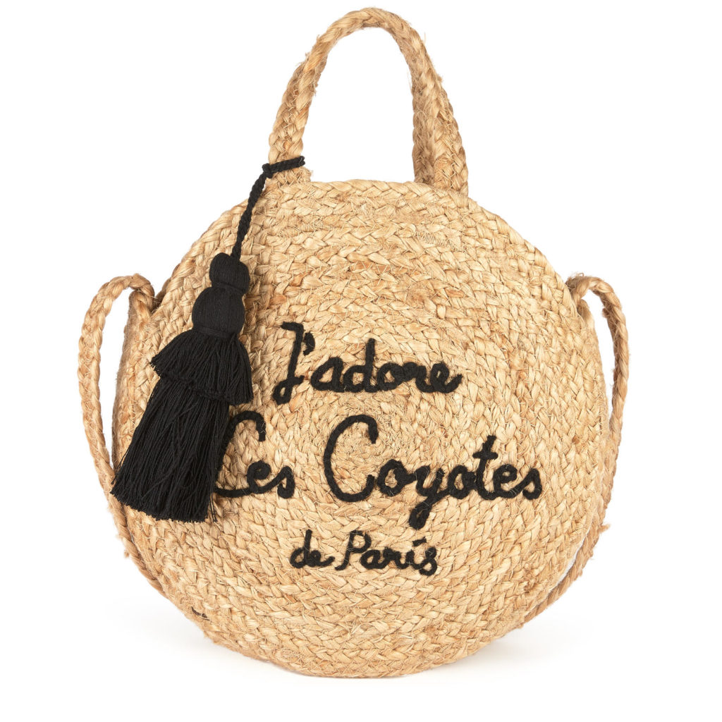 LES COYOTES DE PARIS Jute shoulder bag $87