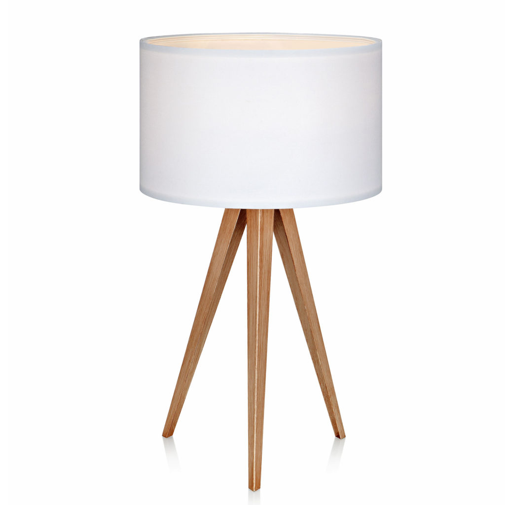 Versanora - Romanza Tripod Table Lamp with White Shade $51.88