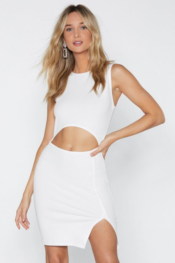 Hear Me Cut-Out Dress $25.00