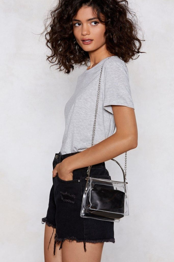WANT Clear As Day Shoulder Bag $18.00