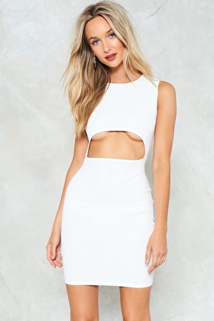 Cut-Out of this World Bodycon Dress $18.00