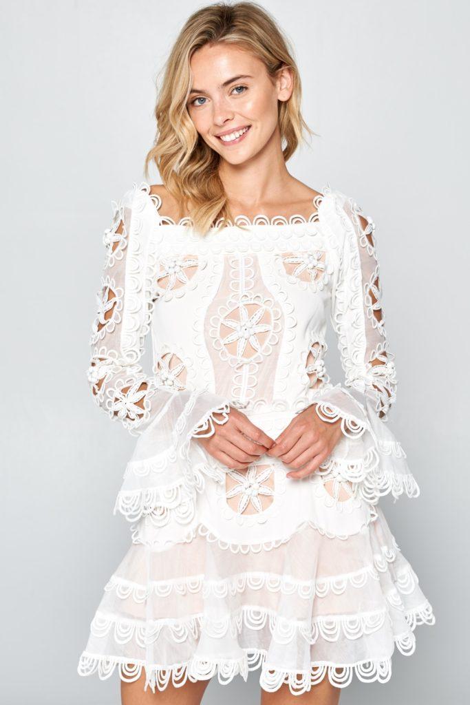 ALEXANDRA ROMANTIC-LACE DRESS$219.99