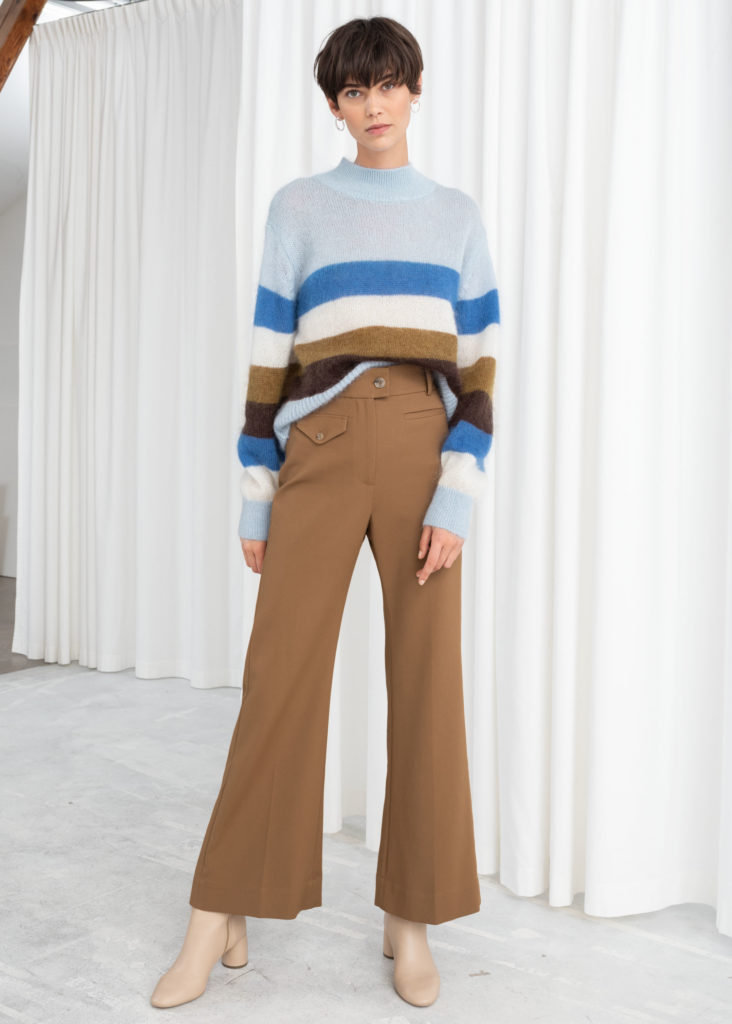 High Waisted Flared Pants $99