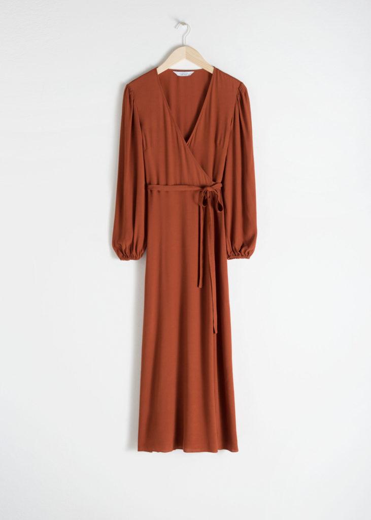 Wrap Midi Dress $119