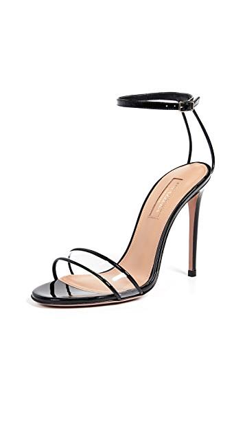 Aquazzura Minimalist 105 Sandals $650.00