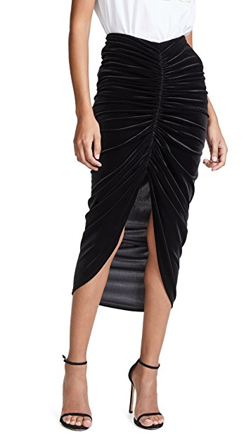 Bailey44 Any Seven Velvet Skirt $47.40