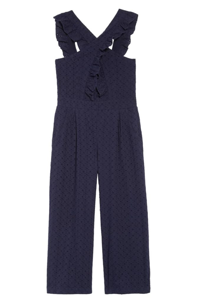 Kids Mila Crisscross Jumpsuit HABITUAL $56.00