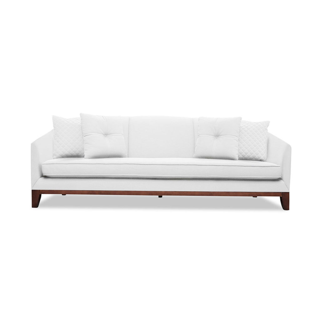 South Cone Home Lois Linen Sofa $1259.05