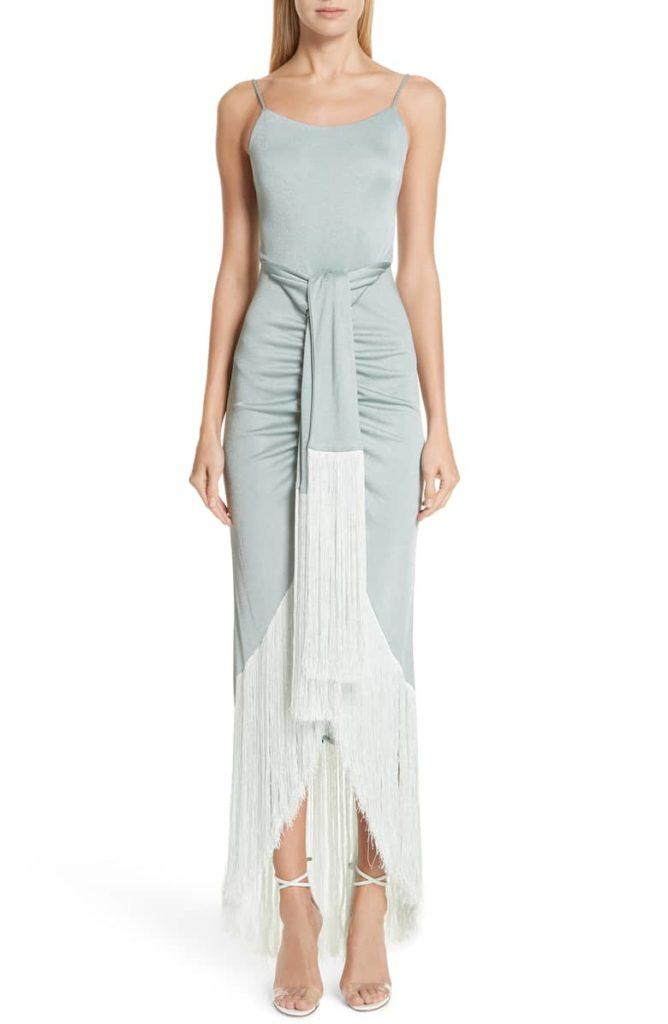 Natalia Fringe Gown CULT GAIA $948.00