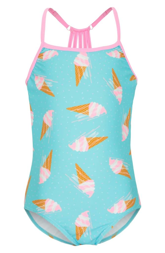 One-Piece SwimsuitPLATYPUS AUSTRALIA Little Girl & Big Girl $52.00
