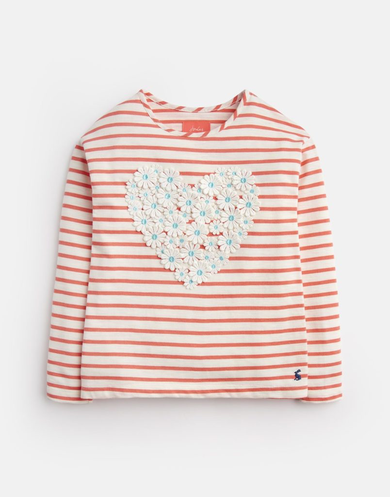 CORA APPLIQUE JERSEY TOP 3-12YR  $32.95