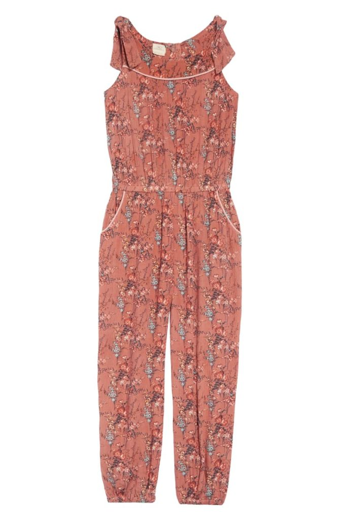 Peyton Floral Jumpsuit O'NEILL $39.50