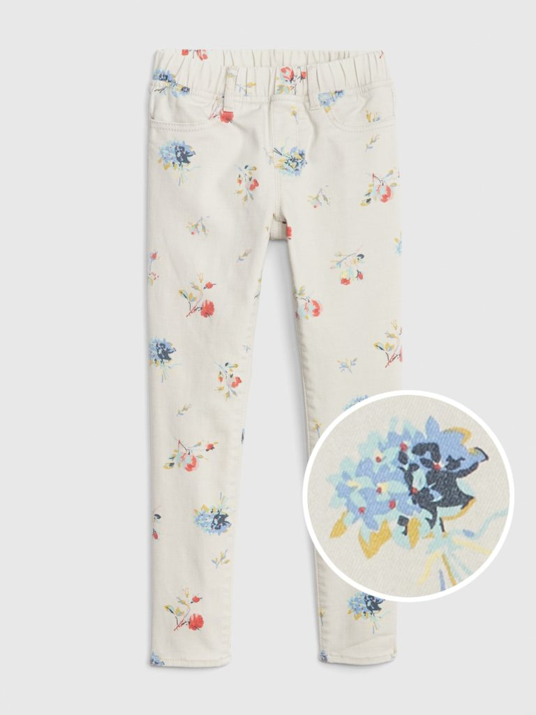 Superdenim Floral Jeggings with Fantastiflex $32.00