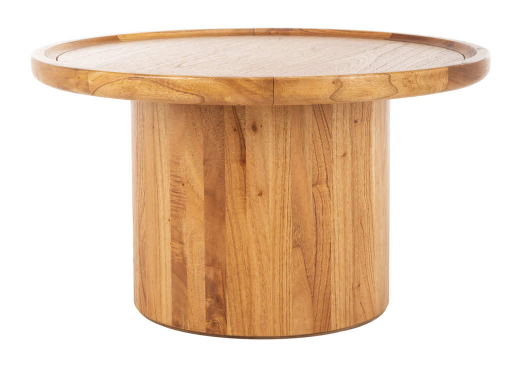 Safavieh Devin Solid Round Pedestal Coffee Table $212.79