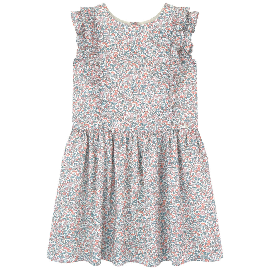 TARTINE ET CHOCOLAT Liberty print dress $125