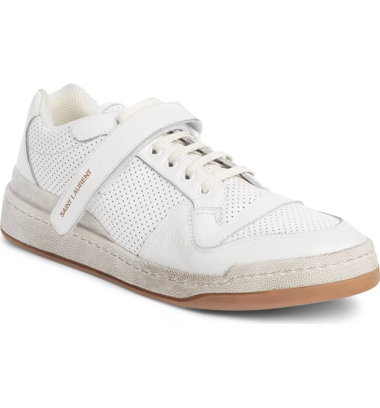 Jeddo Sneaker, Main, color, WHITE/ MULTI  SAINT LAURENT $695.00