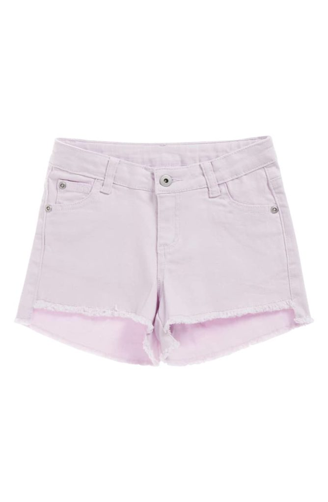 Cutoff Step Hem Denim Shorts SEED HERITAGE $30.00