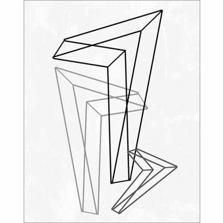 Geometric Triangle Line Drawing Modern $15.29-$36.20