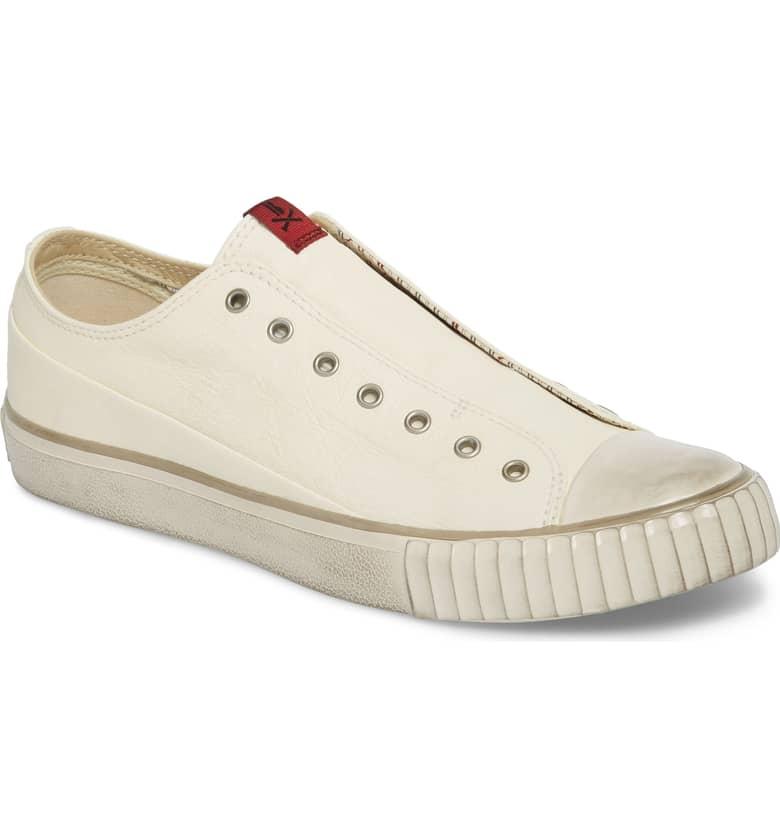 Laceless Low Top Sneaker BOOTLEG BY JOHN VARVATOS $168.00