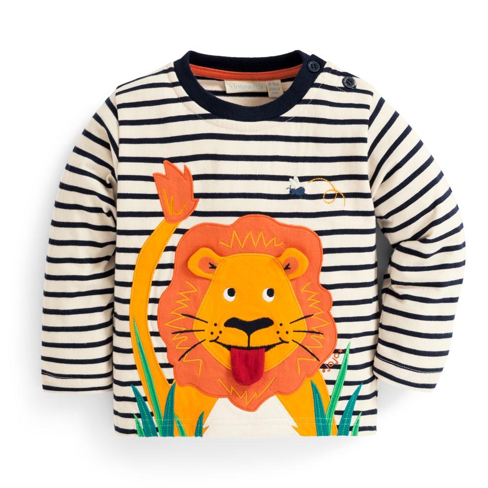 Kids' Lion Appliqué Top $29.00