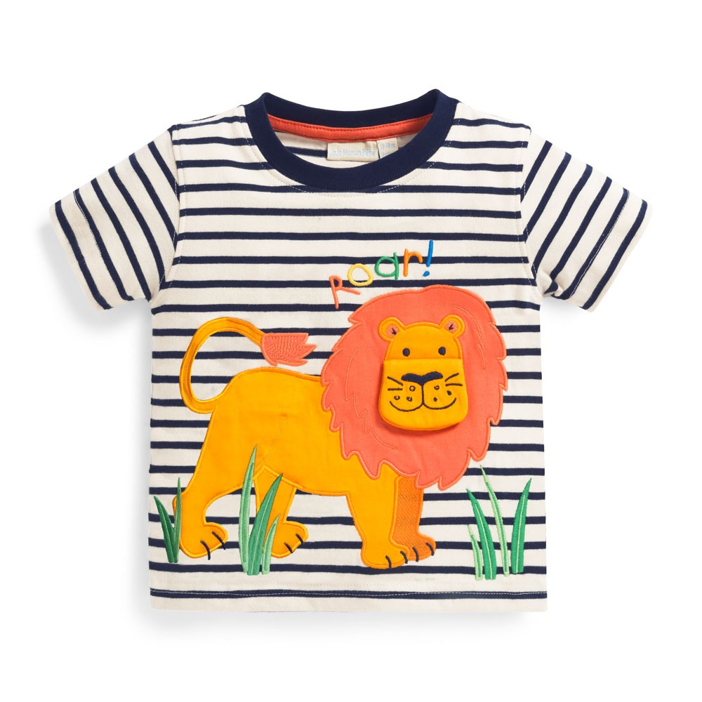 Kids' Roaring Lion Appliqué Tee $29.00