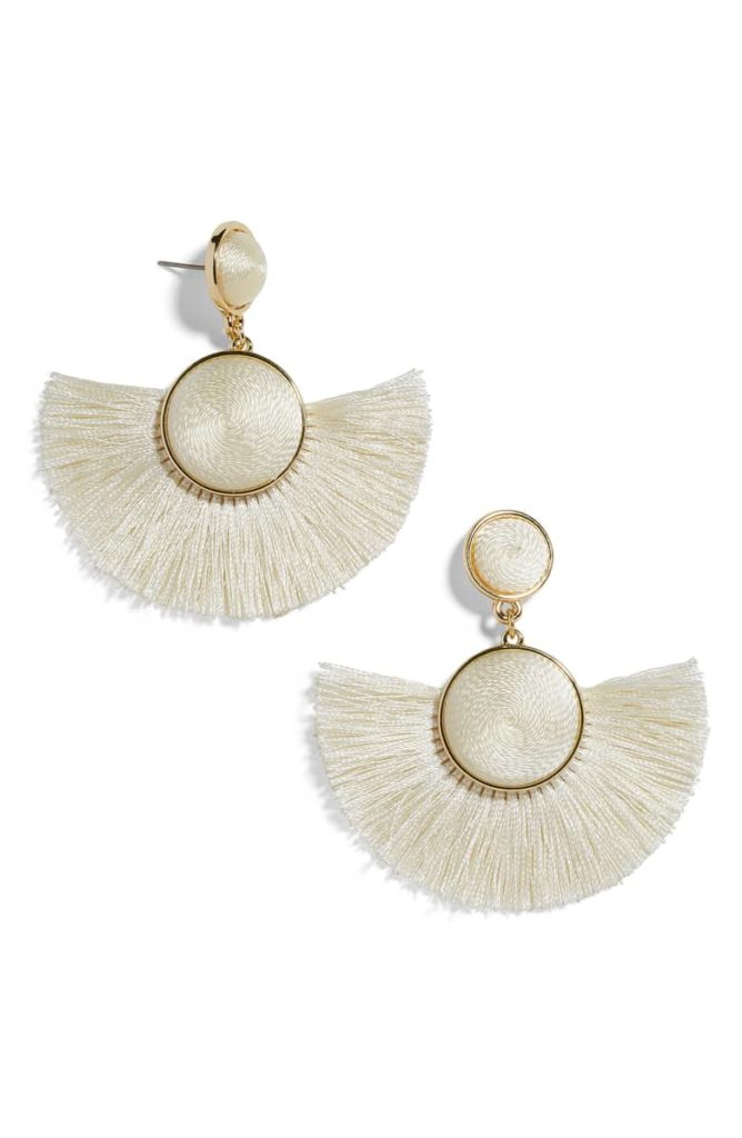 Marinella Fringe Drop Earrings BAUBLEBAR $38.00