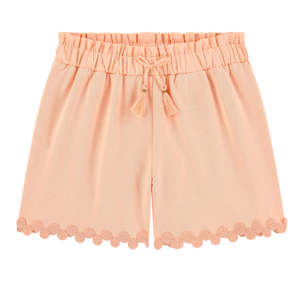 CHLOÉ Mini Me fleece shorts $120