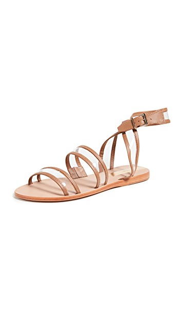 KAANAS Olinda See-Through Sandals $44.70