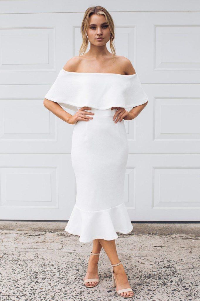 KIRBY DRESS White $61.06