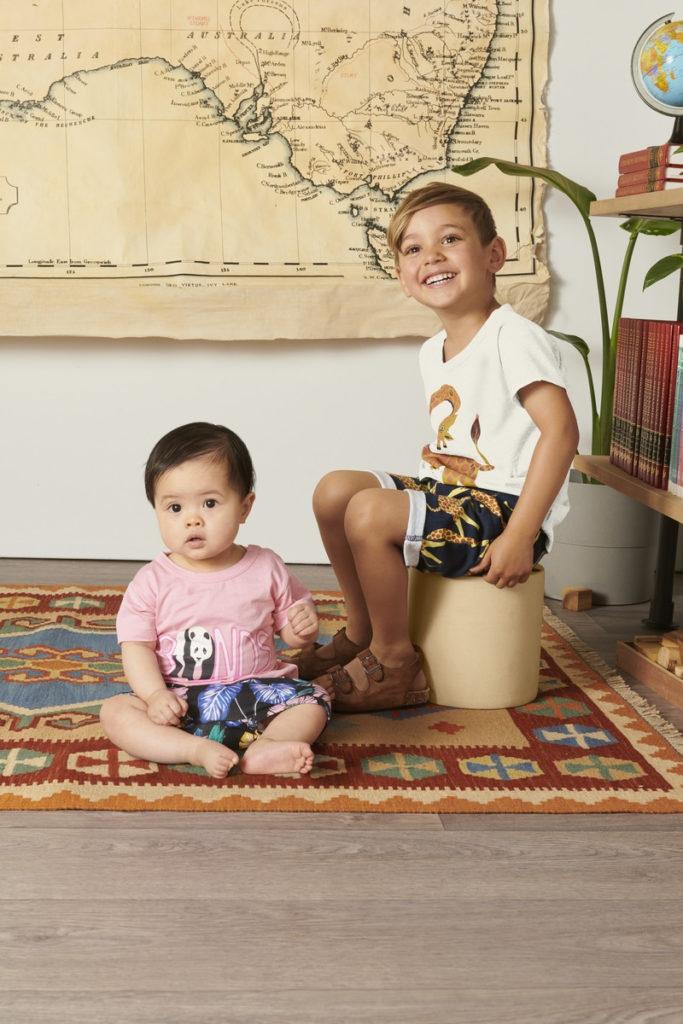 KIDS SHORT SLEEVE CREW TEE $16.95