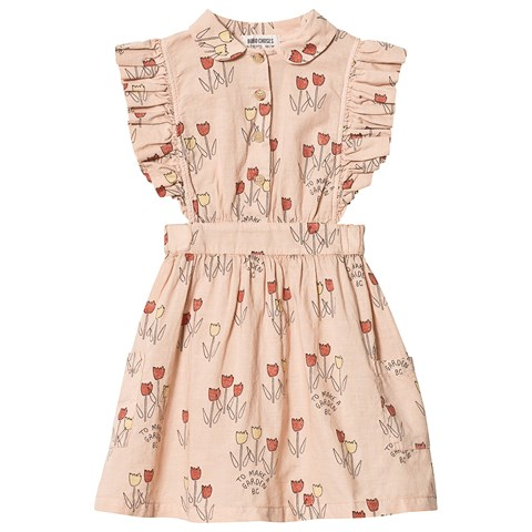 Bobo Choses Rose Dust Ruffle Dress $100.00